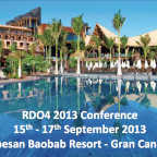 Save the Date - RDO4 2013 Conference